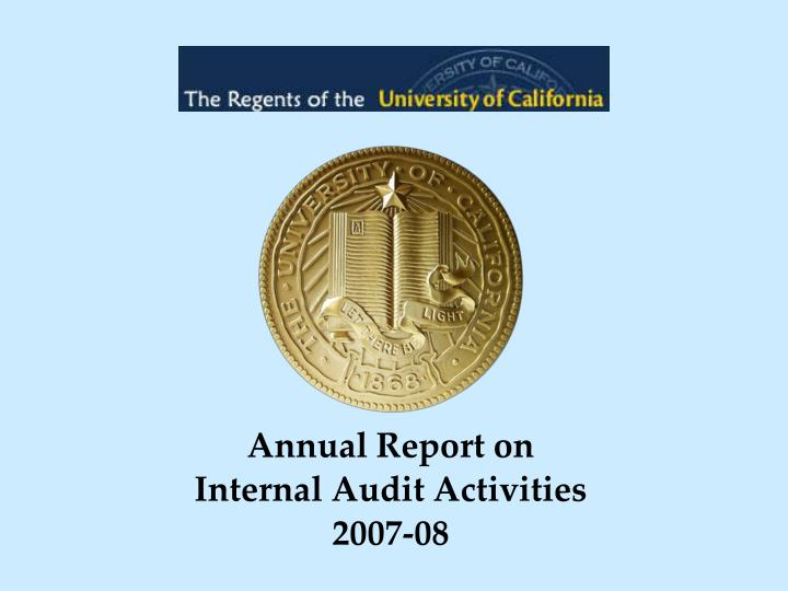 Annual Report on