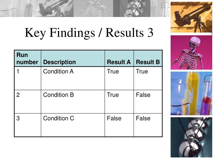 Key Findings / Results 3