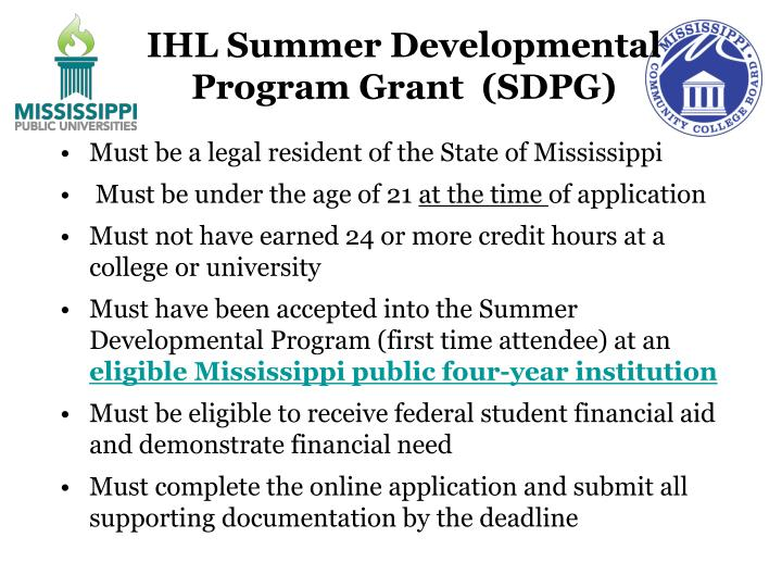 IHL Summer Developmental