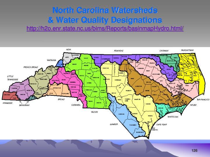 North Carolina Watersheds