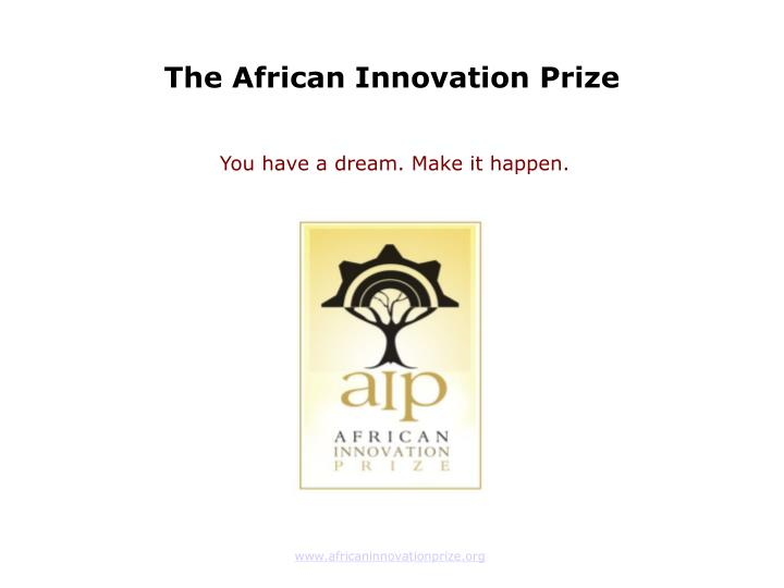 The African Innovation Prize