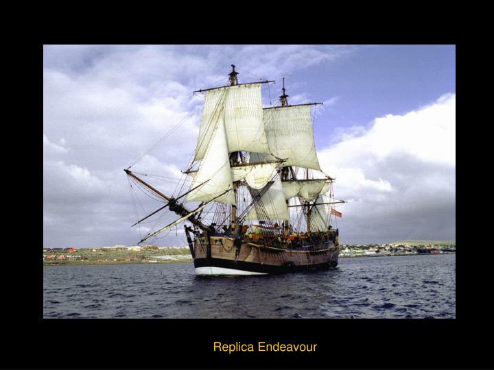 Replica Endeavour