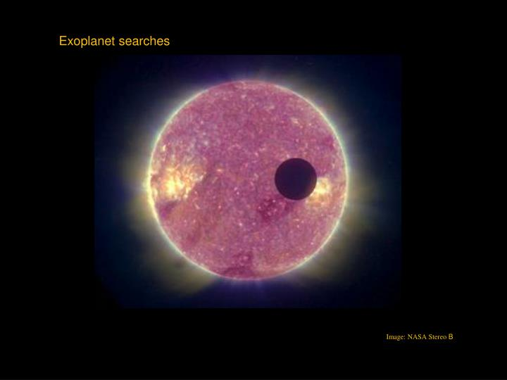 Exoplanet searches
