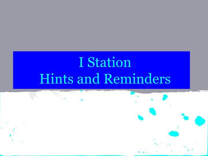 I Station