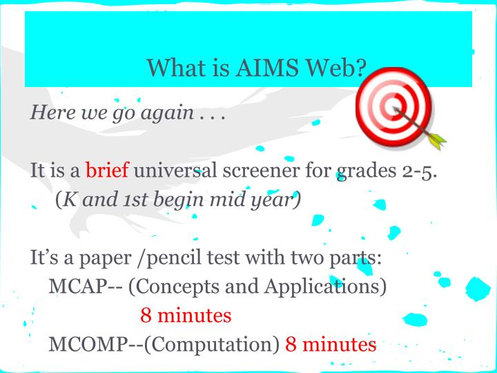 What is AIMS Web?