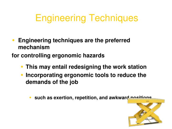 Engineering Techniques