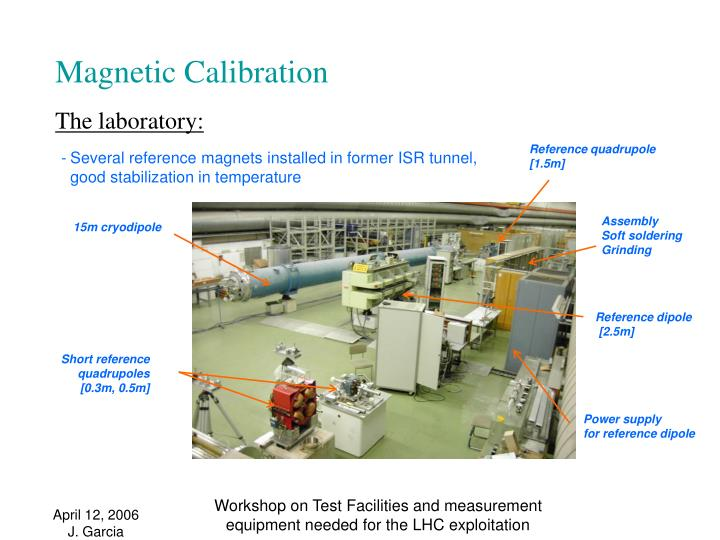 Magnetic Calibration