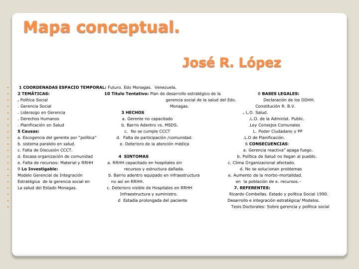 1 COORDENADAS ESPACIO TEMPORAL:
