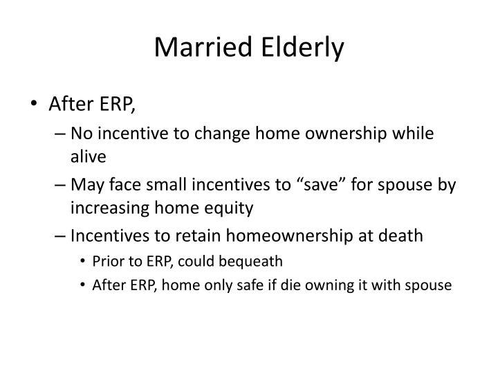 Married Elderly