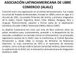 asociaci n latinoamericana de libre comercio alalc