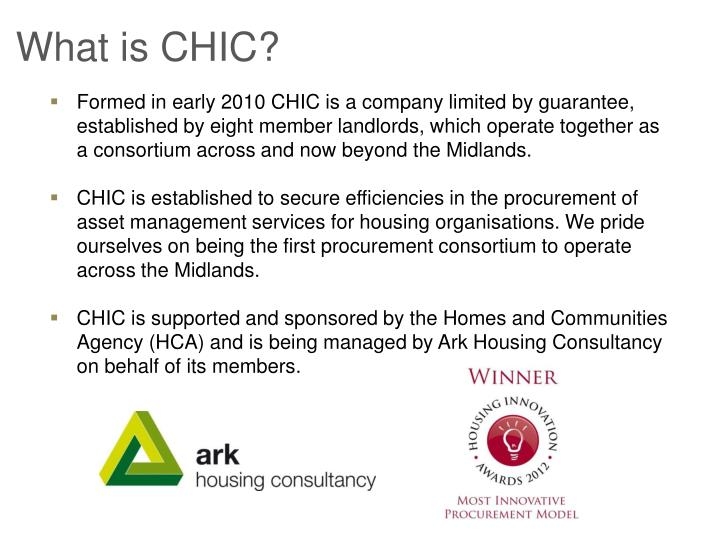 What is CHIC?