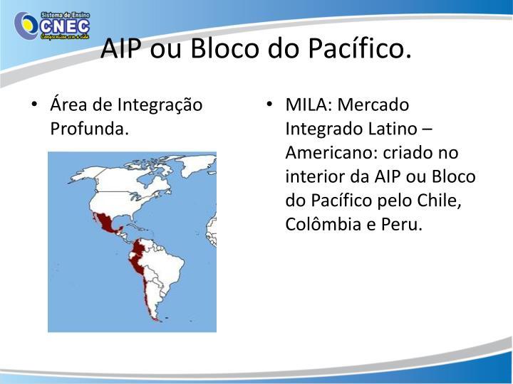 AIP ou Bloco do Pacífico.