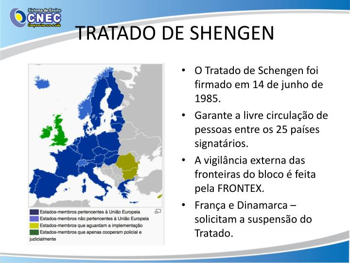 TRATADO DE SHENGEN