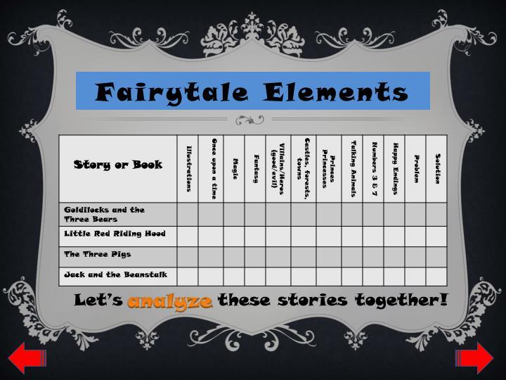 Fairytale Elements