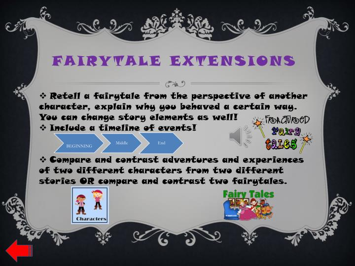 Fairytale extensions