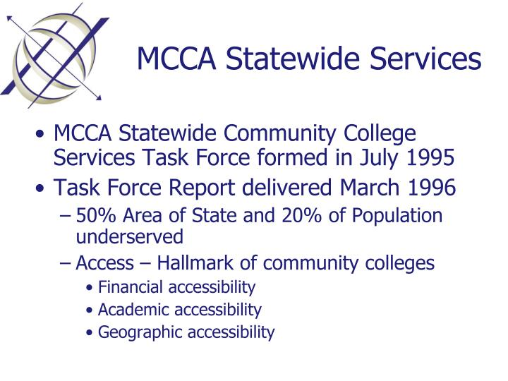MCCA Statewide Services