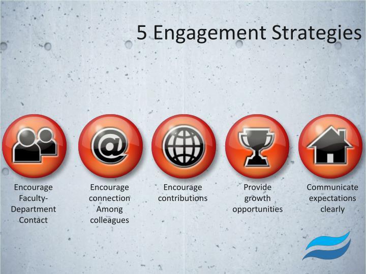 5 Engagement Strategies
