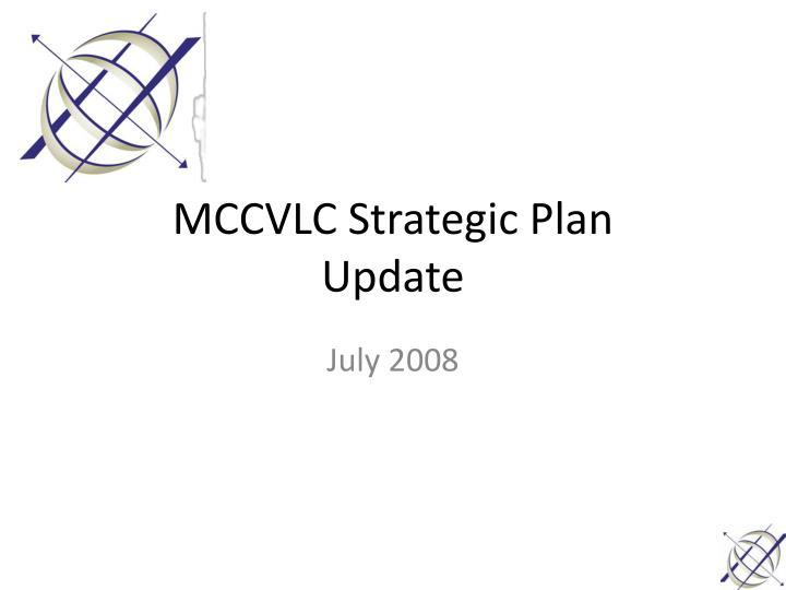 MCCVLC Strategic Plan