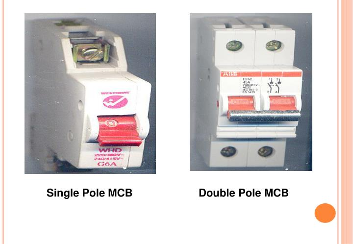 Single Pole MCB