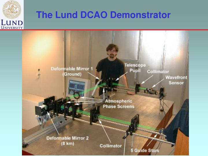 The Lund DCAO Demonstrator