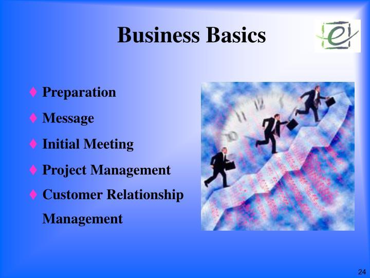 Business Basics