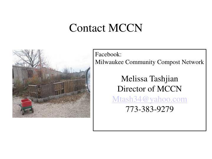 Contact MCCN