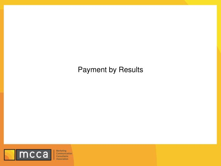 Payment by Results