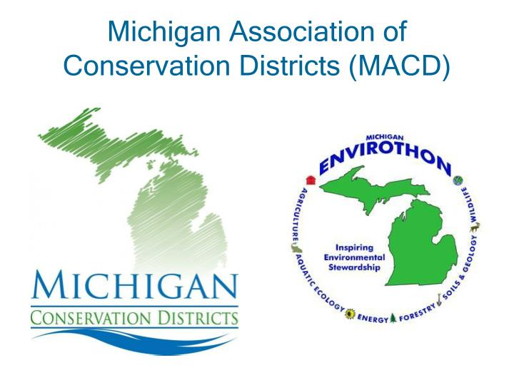 Michigan Association of Conservation Districts (MACD)