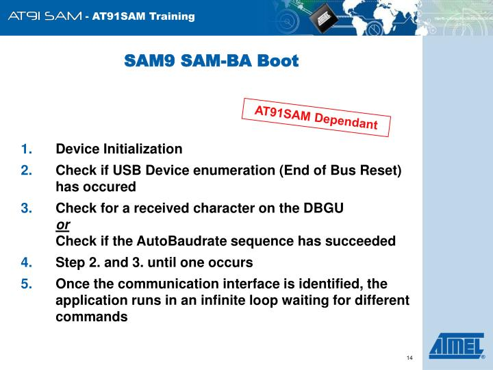SAM9 SAM-BA Boot