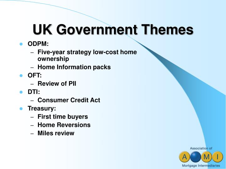 UK Government Themes