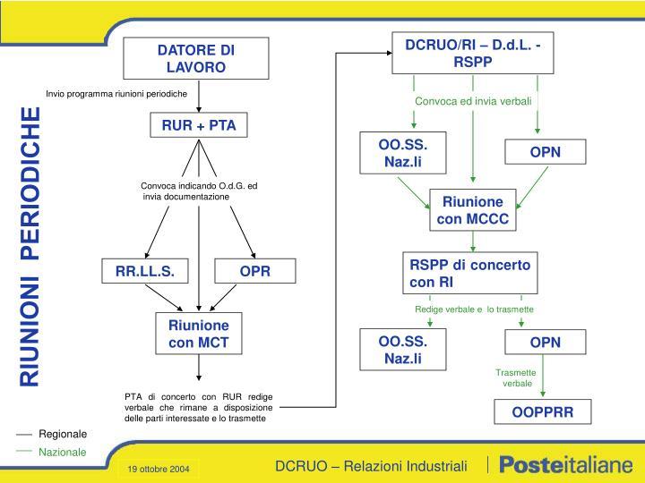 DCRUO/RI – D.d.L. - RSPP