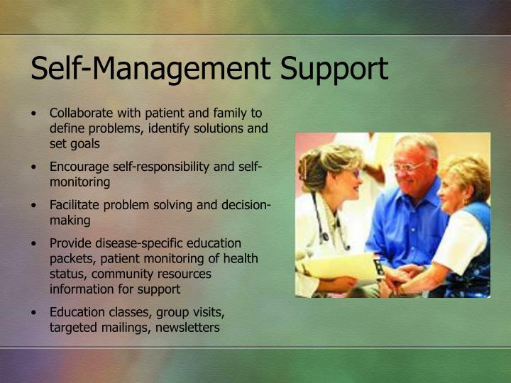Self-Management Support