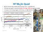 hf nb 3 sn quad