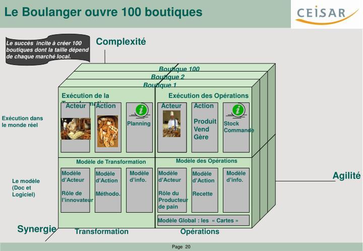 Le Boulanger ouvre 100 boutiques
