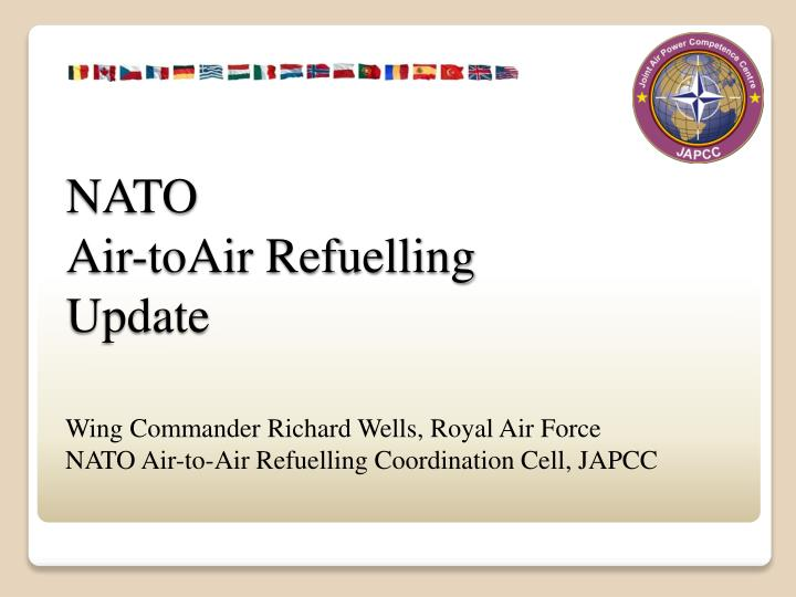 Nato air toair refuelling update