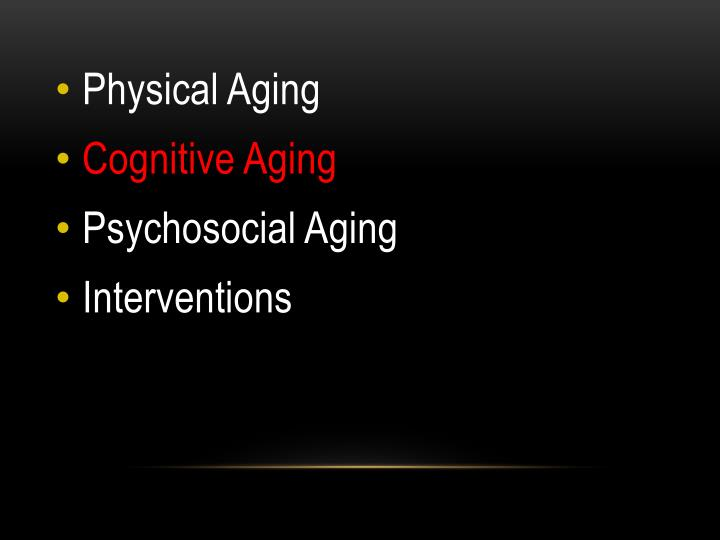 Physical Aging