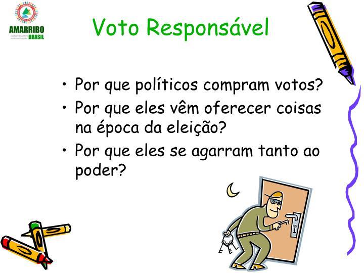 Voto Responsável