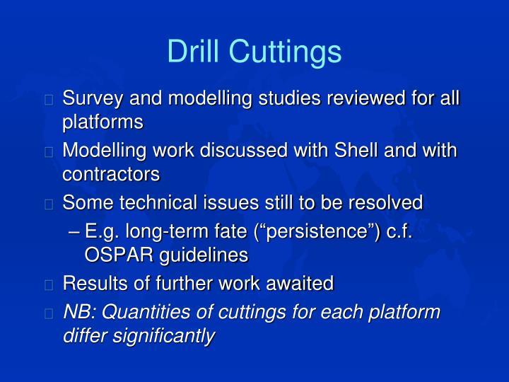 Drill Cuttings