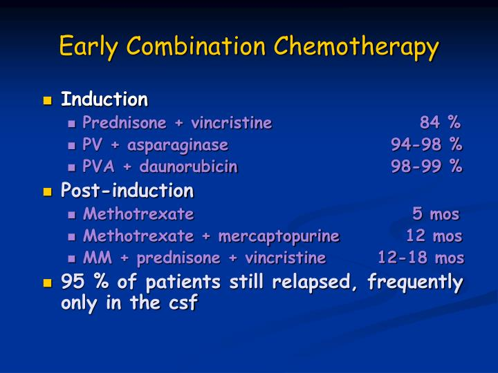 Early Combination Chemotherapy
