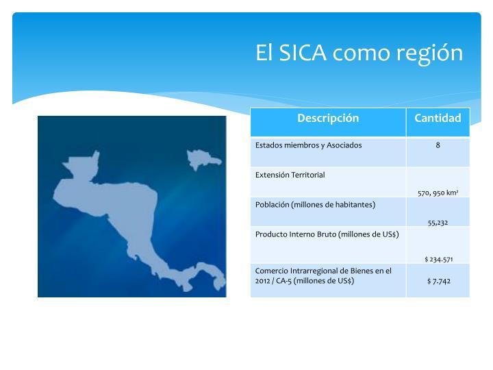 El SICA como región