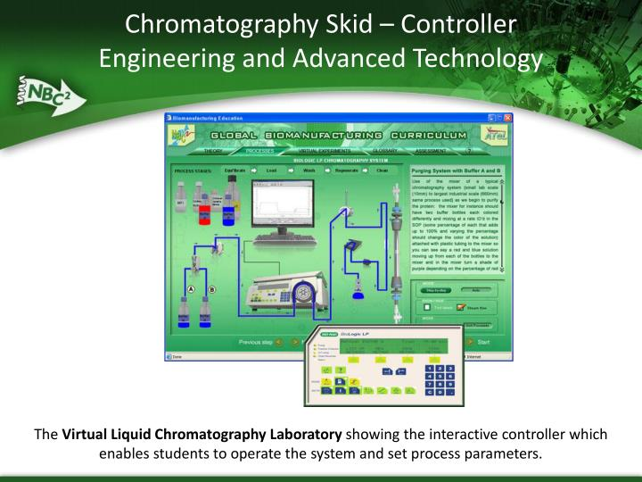 Chromatography Skid – Controller