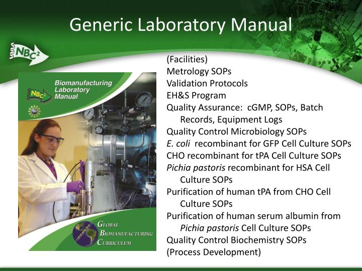 Generic Laboratory Manual