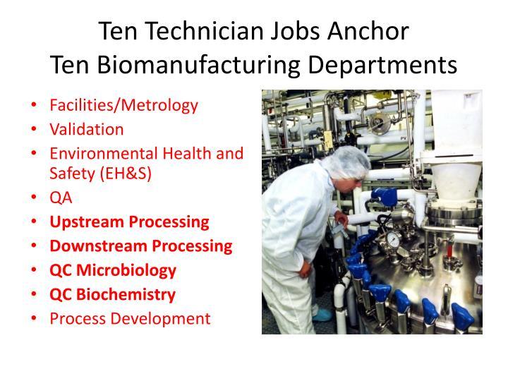 Ten Technician Jobs Anchor