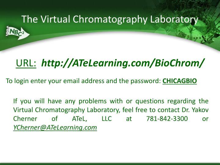 The Virtual Chromatography Laboratory