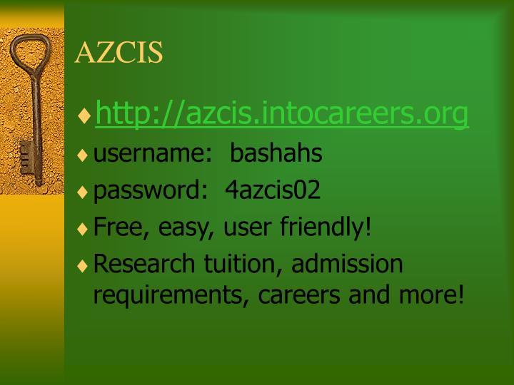 AZCIS