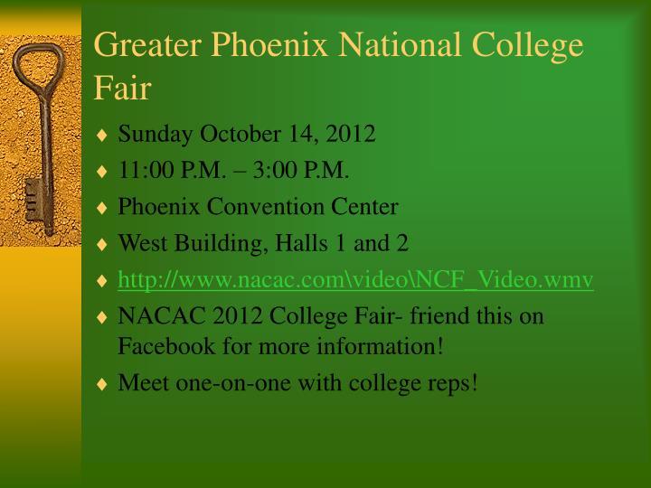 Greater Phoenix National College Fair