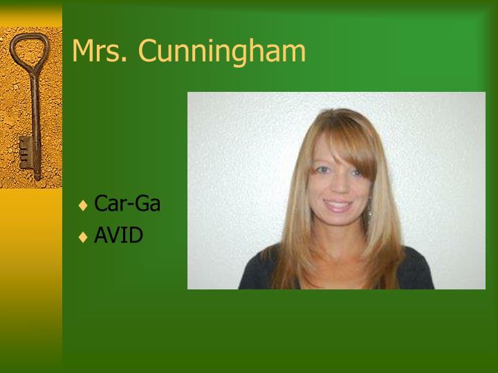 Mrs. Cunningham