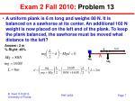 exam 2 fall 2010 problem 13