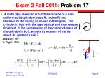 exam 2 fall 2011 problem 17