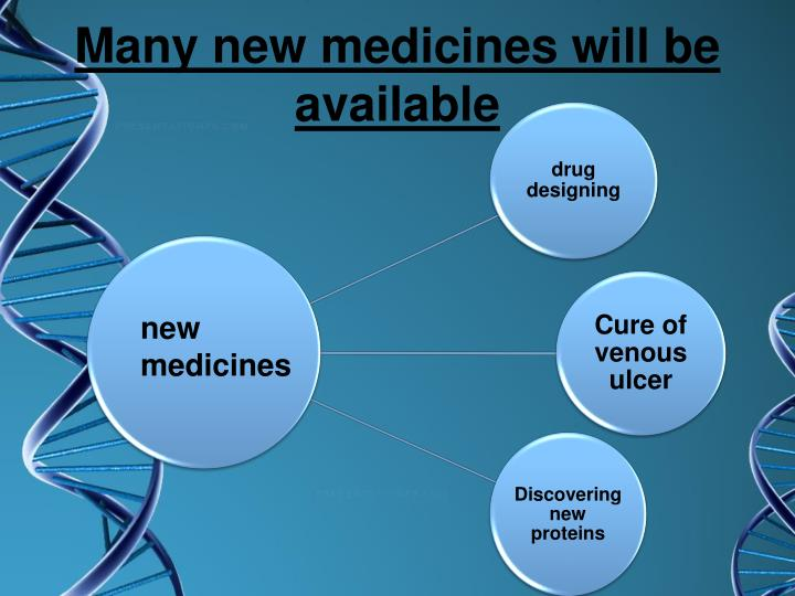 Many new medicines will be available